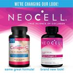 NeoCell Super Collagen + C 6000 mg Type 1 & 3 for Hair, Skin, Joints & Bones - 250 Tablets