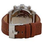 Diesel DZ4296 Mens Black Dial Analog Quartz Leather Strap Watch