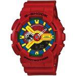 Red Casio G-Shock XL Analog Digital Watch GA110FC-1A