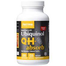 Jarrow Formulas Ubiquinol QH Absorb High Absorption/Enhanced Stability 100mg 120Softgels