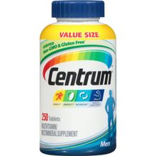 Centrum Men (250 Count) Multivitamin/Multimineral Supplement Tablet, Vitamin D3