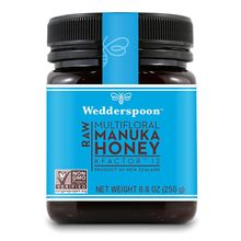 Wedderspoon Raw Manuka Honey KFactor' 12 -- 8.8 oz