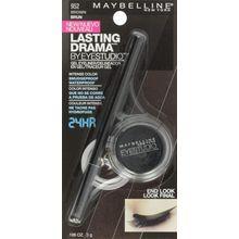 Maybelline New York Eye Studio Lasting Drama Gel Eyeliner, Waterproof, Brown 952