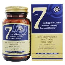 Solgar No. 7 Joint Support and Comfort -- 90 Vegetable Capsules