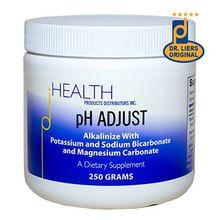 pH ADJUST Alkalinizing Formula, 250 gm Alkalinize with Potassium Bicarbonate, Magnesium Carbonate, Potassium Glycinate, and Sodium Bicarbonate