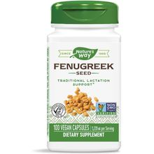Nature's Way, Fenugreek Seed, 1220 mg per Serving, 100 Vegan Capsules