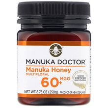 Manuka Doctor, 60+ Bio Active Manuka Honey, 8.75 oz (250 g)