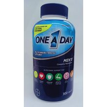 One A Day Men's Multivitamin/Multimineral Healthy Formula for Under 50 Age, 300 Tablets