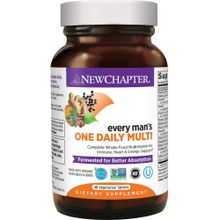 New Chapter Every Men's One Daily Multi 48 Tablets NCR-00327
