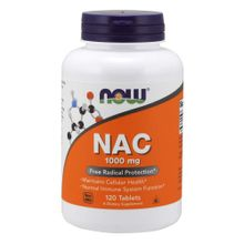 Now Foods N - Acetyl Cysteine 1000 Mg Free Radical Protection Tablets - 120 Count