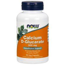 Now Foods Calcium D-Glucarate Veg Capsules, 500 mg, 90 Count