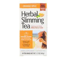 21st Century Herbal Slimming Tea Orange Spice 24 Tea Bags 1.7 oz (48 g)