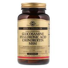 Solgar, Glucosamine Hyaluronic Acid Chondroitin MSM, 120 Tablets SOL-01317