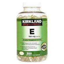 Kirkland Signature Vitamin E 400 I.U. 500 Softgels