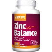 Jarrow Formulas Zinc Balance 100Veggie Caps