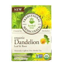 Traditional Medicinals Organic Dandelion Leaf & Root Herbal Tea (16 Tea Bags)