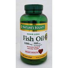 Nature's Bounty Fish Oil 1400 mg., 130 Softgels