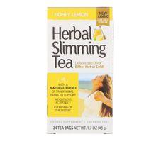 21st Century Herbal Slimming Tea Honey Lemon 24 Tea Bags 1.7 oz (48 g)