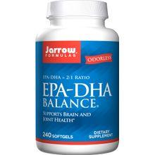 Jarrow Formulas EPA DHA Balance Formula Softgels 240Softgels