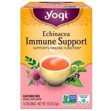Yogi Tea Echinacea Immune Support Caffeine Free 16 Tea Bags .85 oz (24 g)