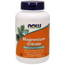 Now Foods Magnesium Citrate - 120 Veg Capsules