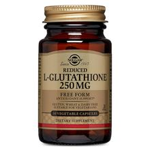 Solgar Reduced L-Glutathione Vegetable Capsules, 250 mg, 30 Count