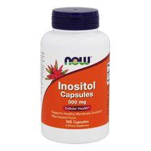 Now Foods, Inositol Capsules, 500 mg, 100 Capsules