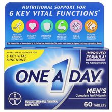 One-A-Day Men's Health Formula Multivitamin/Multimineral 60 Tabs
