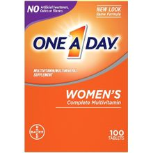 One A Day Women's Formula Multivitamin/Multimineral 100 Tablets