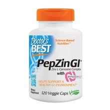 Doctor's Best PepZin Gl Zinc-L-Carnosine Complex - 120 Veggie Caps
