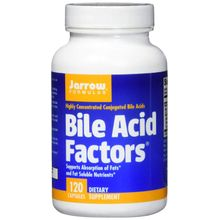 Jarrow Formulas Bile Acid Factors 120 Capsules
