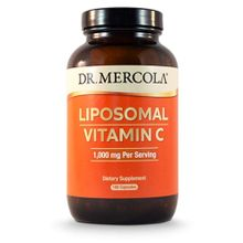 Dr. Mercola Liposomal Vitamin C - 1000 mg - 180 Capsules