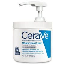CeraVe Moisturizing Cream | 19 Ounce with Pump | Daily Face and Body Moisturizer for Dry Skin