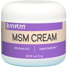 MRM, MSM Cream, 4 oz (113g)