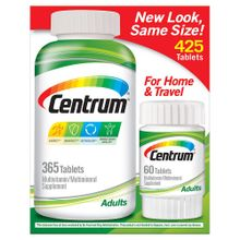 Centrum Multivitamin Multimineral Supplement for Adults 425 tablets