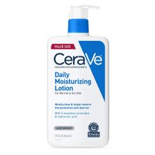 CeraVe Daily Moisturizing Lotion Face & Body Lotion for Dry Skin with Hyaluronic Acid 19 Ounce