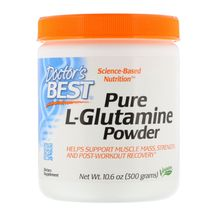 Doctor's Best Pure L-Glutamine Powder 10.6 oz (300 g)