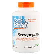 Doctor's Best Serrapeptase, 270 Veggie Caps