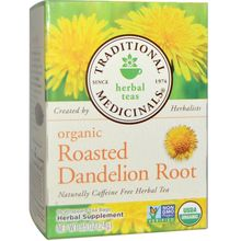 Traditional Medicinals Teas Organic Roasted Dandelion Root 16 bag