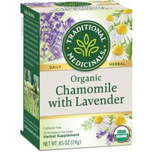 Traditional Medicinals Teas Organic Chamomile w/Lavender Tea 16 bags
