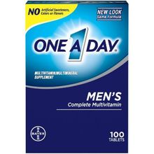 One-A-Day Men's Health Formula Multivitamin/Multiminal 100 Tabs