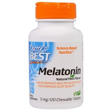 Doctor's Best Melatonin 5mg 120 Tablets