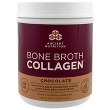 Ancient Nutrition Bone Broth Collagen Chocolate 18.6 oz (528 g)