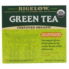 Bigelow Tea Organic Green Tea Decaffeinated - 40 Tea Bags