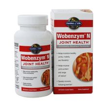Garden of Life - Wobenzym N Joint Health - 100 Enteric-Coated Tablets