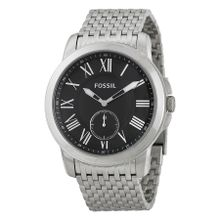 Grant Chronograph Black Dial Stainless Steel Men's Watch