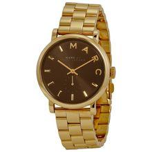 Marc Jacobs MBM3355 Womens Black Dial Analog Quartz Watch