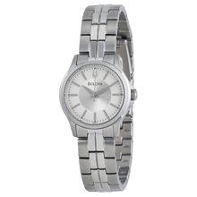 Bulova 96L152 Silver Dial Stainless Steel Ladies Watch