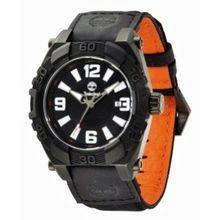 Timberland 13321JSB_02 Mens Black Dial Analog Quartz Watch with Nylon Strap