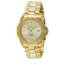 Invicta 9010 Mens Men Automatic Pro Diver G2 Gold Stainless-Steel Automatic Watch